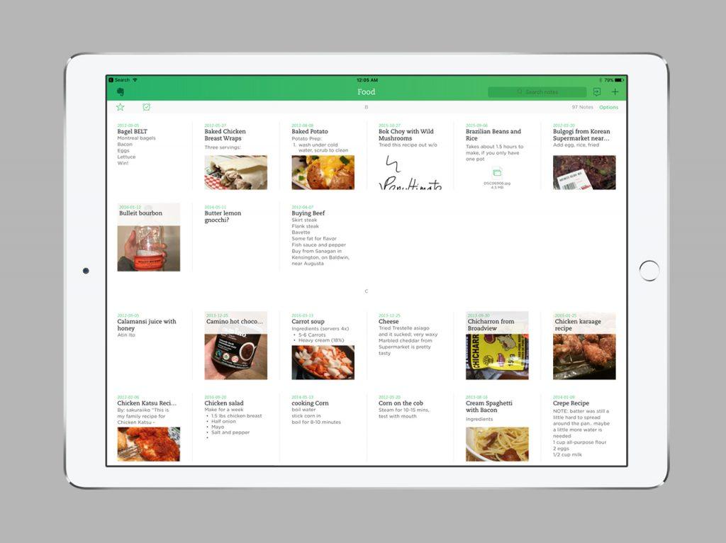 Top 5 des applications de prise de note sur tablette