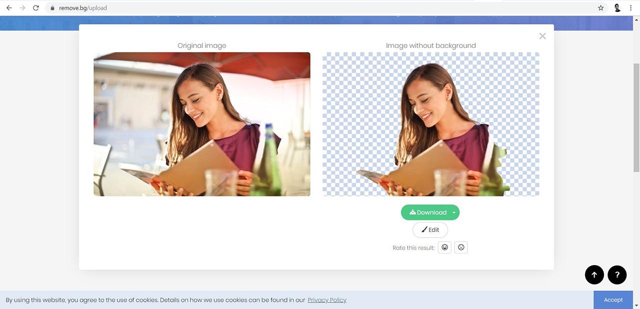 Sites de retouche photo en ligne utilisant l'intelligence artificielle