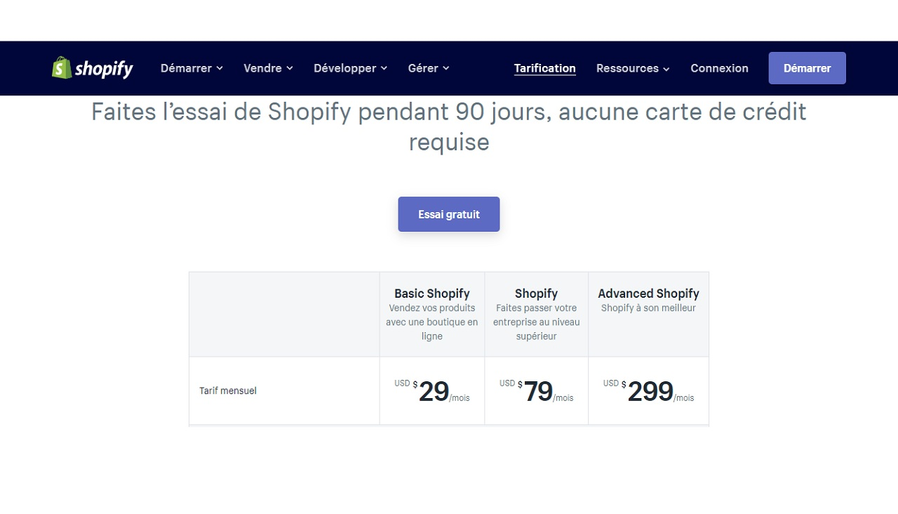 Quel forfait choisir pour sa boQuel forfait choisir pour sa boutique Shopifyutique Shopify
