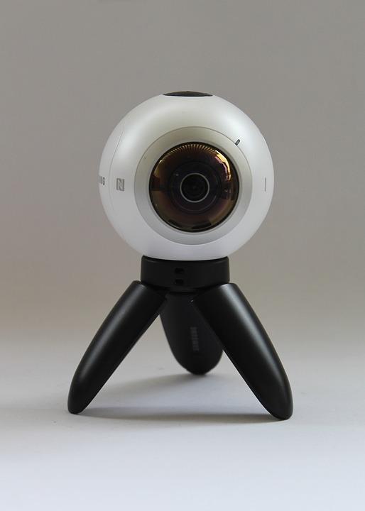 Quelle caméra pour vidéo 360 dégrés