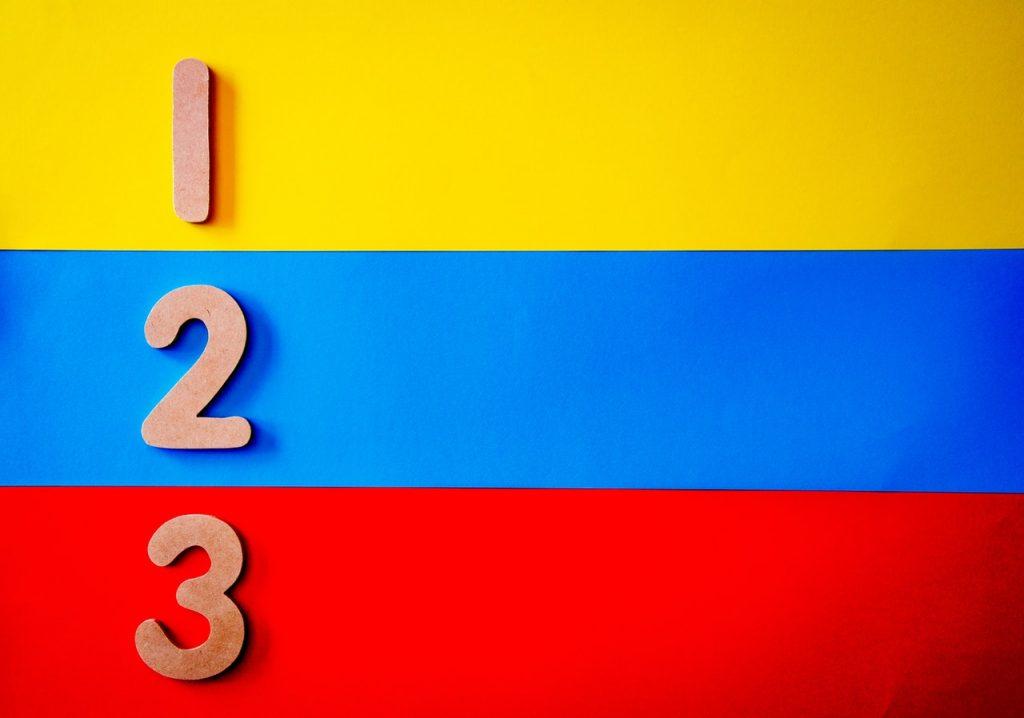 3 couleurs