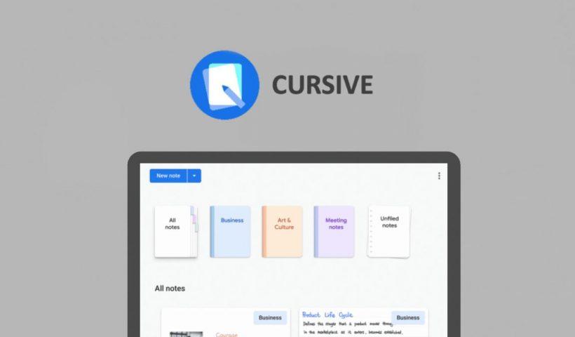 google cursive